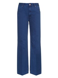 Etoile Isabel Marant High Waisted Flared Jeans