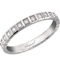 Chopard Ice Cube 18Ct White Gold And Diamond Ring