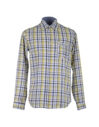 Geox Long Sleeve Shirts Yellow