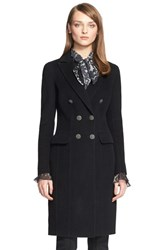 Women's St. John Collection Double Breasted Coat