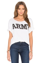 Nlst Army Tee White
