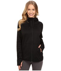 Nike All Time Full Zip Hoodie Black Black Black Women's Sweatshirt