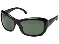 Spy Optic Farrah Black Happy Glass Gray Green Polar Fashion Sunglasses