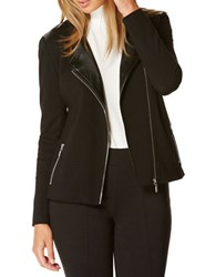 Rafaella Long Sleeve Zipper Jacket Black