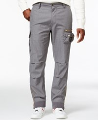 Sean John Cargo Jogger Pants Medium Grey