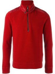 Moncler Grenoble 'Army' Sweatshirt Red