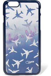 Diane Von Furstenberg Hologram Iphone 6 Case Blue