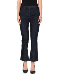 Mauro Grifoni Denim Denim Capris Women Blue