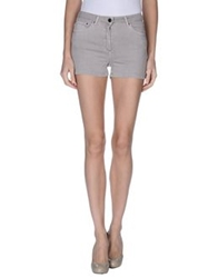 American Vintage Denim Shorts Dove Grey
