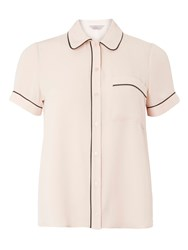 Dorothy Perkins Petite Piped Shirt Pink