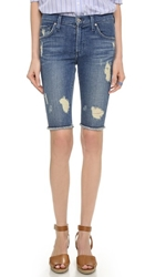 James Jeans Raw Hem Bermuda Shorts Indio