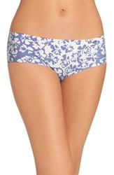 Calvin Klein Women's 'Invisibles' Print Hipster Briefs Simplicity Floral