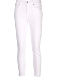Citizens Of Humanity Crop Rocket Highrise Jeans White