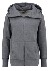 Your Turn Tracksuit Top Mottled Dark Grey