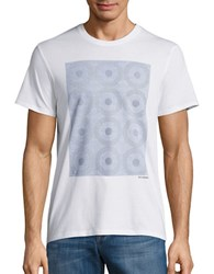 Ben Sherman Dotted Graphic Tee Bright White