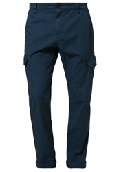 Kiomi Cargo Trousers Dark Blue