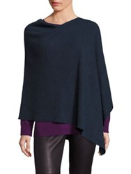 Eileen Fisher Merino Wool Poncho Fir