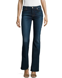7 For All Mankind Kimmie Boot Cut Slim Illusion Jeans Tried And True Blue