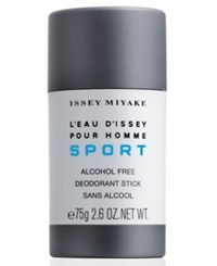 Issey Miyake L'eau D'issey Pour Homme Sport Deodorant Stick 2.6 Oz