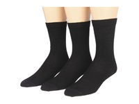 Fox River Basic Crew Merino Wool Casual Sock 3 Pair Pack Black Women's Crew Cut Socks Shoes