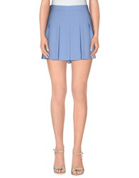 Tara Jarmon Skirts Mini Skirts Women Sky Blue