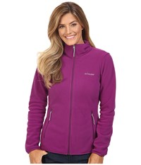Columbia Fuller Ridge Fleece Jacket Plum Women's Coat Purple