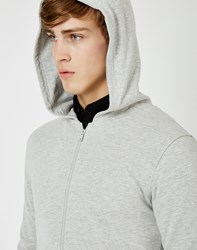 Only And Sons Kay Zip Hoodie Grey