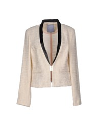 Silvian Heach Suits And Jackets Blazers Women Beige