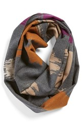 Women's Chelsey 'Clouds' Silk Infinity Scarf