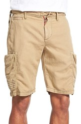 Men's Robert Graham 'Mccallister' Cargo Shorts Dark Khaki