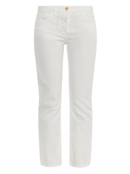 The Row Ashland Mid Rise Straight Jeans