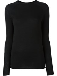 Haider Ackermann Round Neck Jumper Black