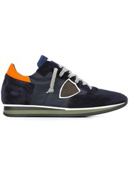 Philippe Model Lateral Patch Sneakers Blue