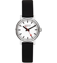 Mondaine A6583030111sbb Evo Black Watch White