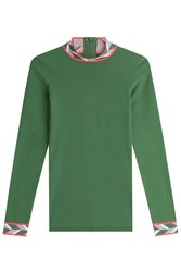 Emilio Pucci Top With Printed Detail Green