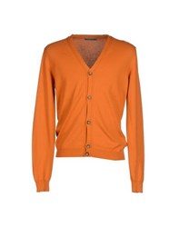 Siviglia Knitwear Cardigans Men Orange