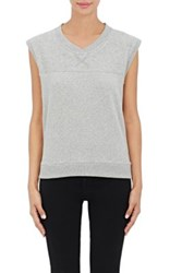 Skin Women's Soft French Terry Sleeveless Top Grey