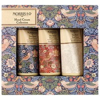 Heathcote And Ivory Morris And Co Strawberry Thief Hand Cream Collection