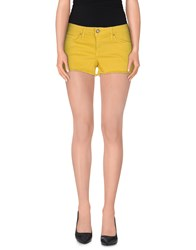 Blauer Denim Denim Shorts Women Yellow