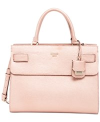 Guess Cate Satchel Rose Gold