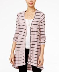 American Rag Striped High Low Cardigan Only At Macy's Zephyr Combo