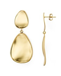Argentovivo Argento Vivo Mirrored Drop Earrings Gold