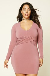Forever 21 Plus Size Knot Bodycon Dress