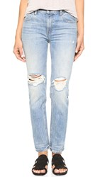 Denim X Alexander Wang 002 Relaxed Fit Skinny Jeans Light Indigo