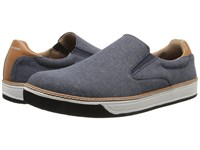 Mark Nason Daleside Navy Canvas Men's Slip On Shoes Blue