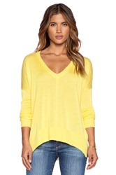 John And Jenn By Line Pax V Neck Pullover Yellow
