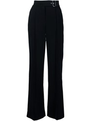 A.L.C. Belted Wide Leg Trousers Black