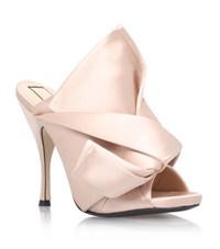 N 21 No. 21 Satin Bow Mule Female Nude