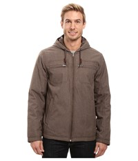 Prana Holmes Jacket Wren Heather Men's Coat Beige