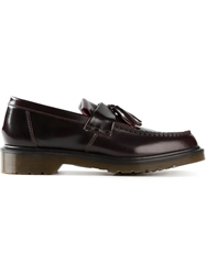 Dr. Martens Tassel Loafers Red